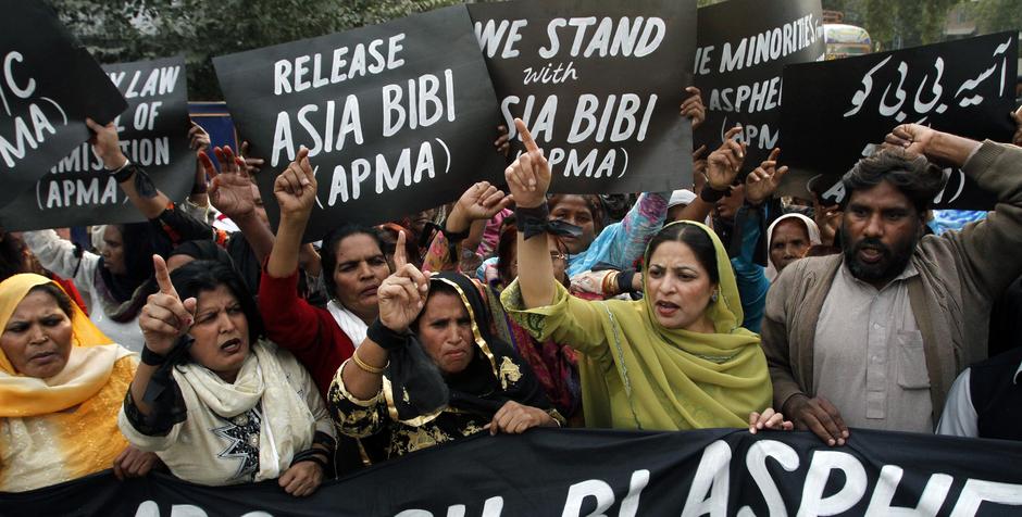 Asia Bibi: Pakistán o un infierno para loscristianos