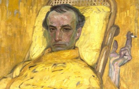 Autorretrato de Frantisek Kupka titulado 'The Yellow Scale', hecho en 1907