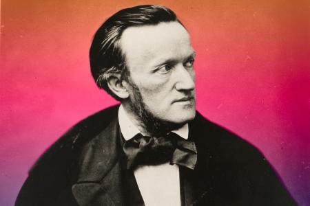 Richard Wagner por Pierre Petit (1861)
