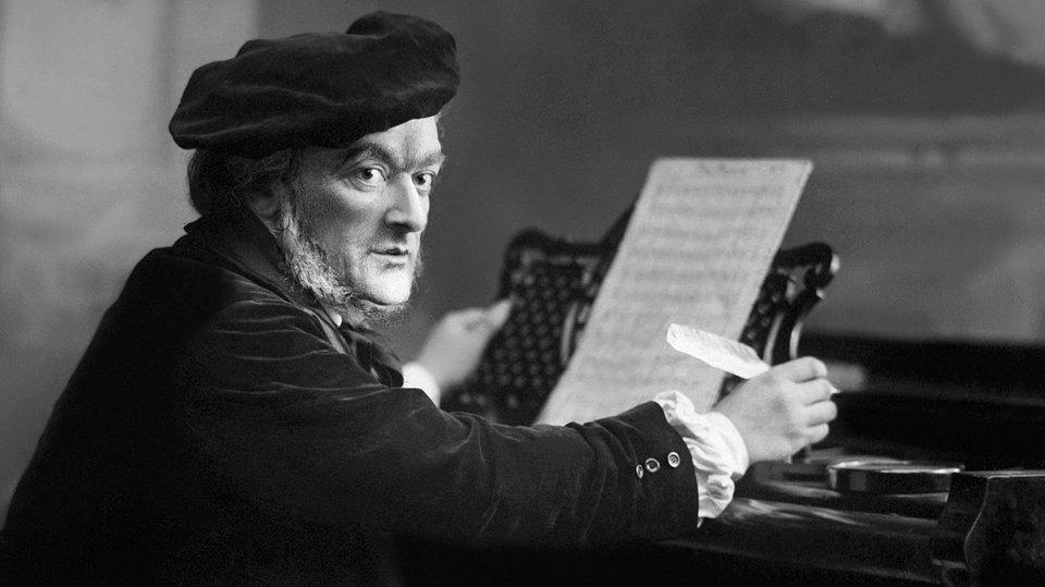 El compositor Richard Wagner